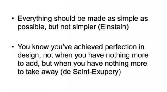 ジョージ・ホワイトサイド 簡潔性の科学に向けて