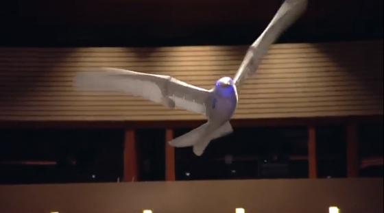 マルクス・フィッシャー 鳥のように飛行するロボット